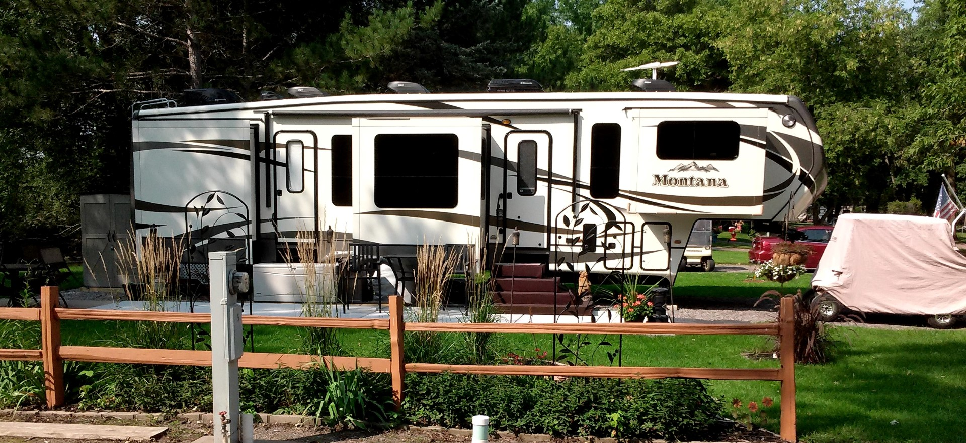 RiversEdge RV Park Campground Becker Elk River MN
