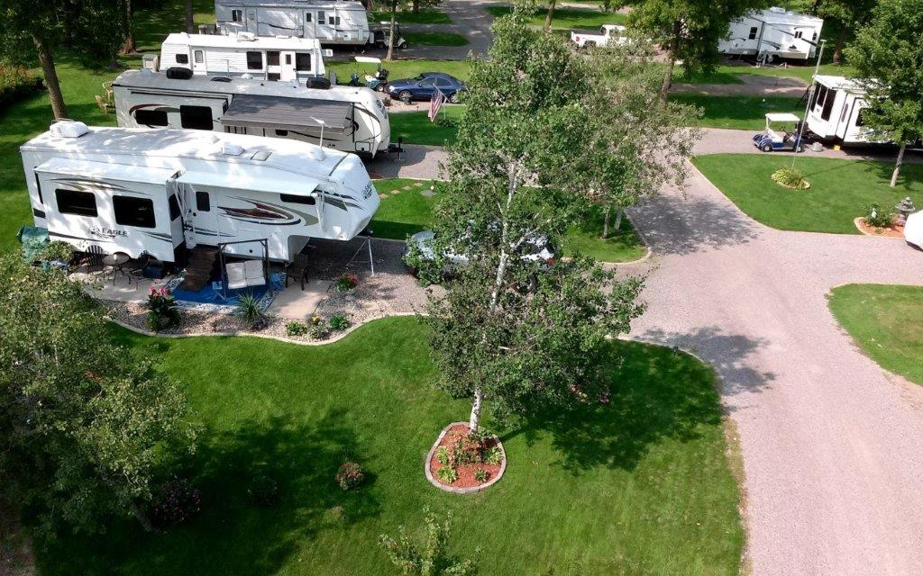 We Are Arnie And Susie Foss The Owners Full Time Tenants Of This Beautiful RV Park In Central Minnesota Work Hard To Offer A Well Maintained