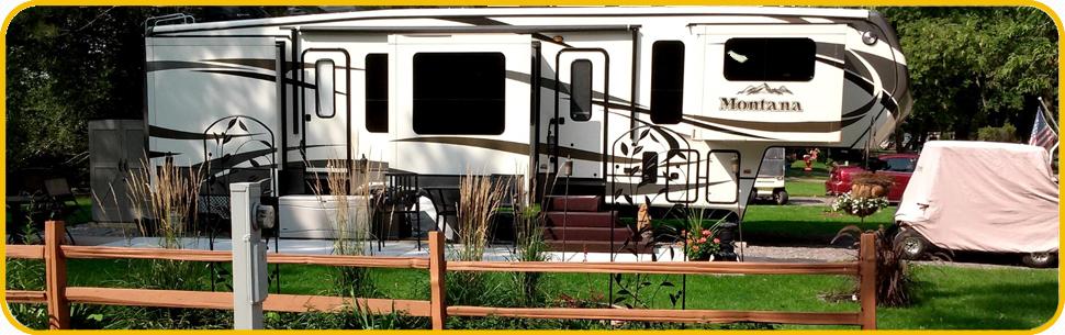 RiversEdge RV Park Campground Becker Elk River MN